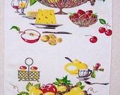 LOT 4 TOWELS Vintage 1950s Kitchen Wilendur ROOSTERS