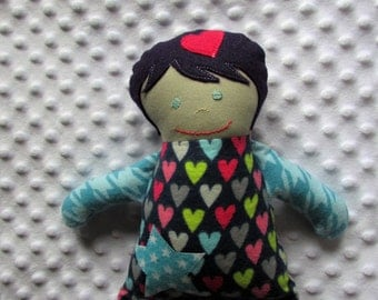 India Small Handmade Fabric Baby Doll