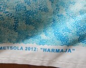 Marimekko Fabric Harmaja Cotton Print Almost 3 yards