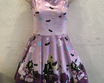 Candy Cemetery Dress 2.0, Halloween Dress, Candy Dress, Candy Corn Dress