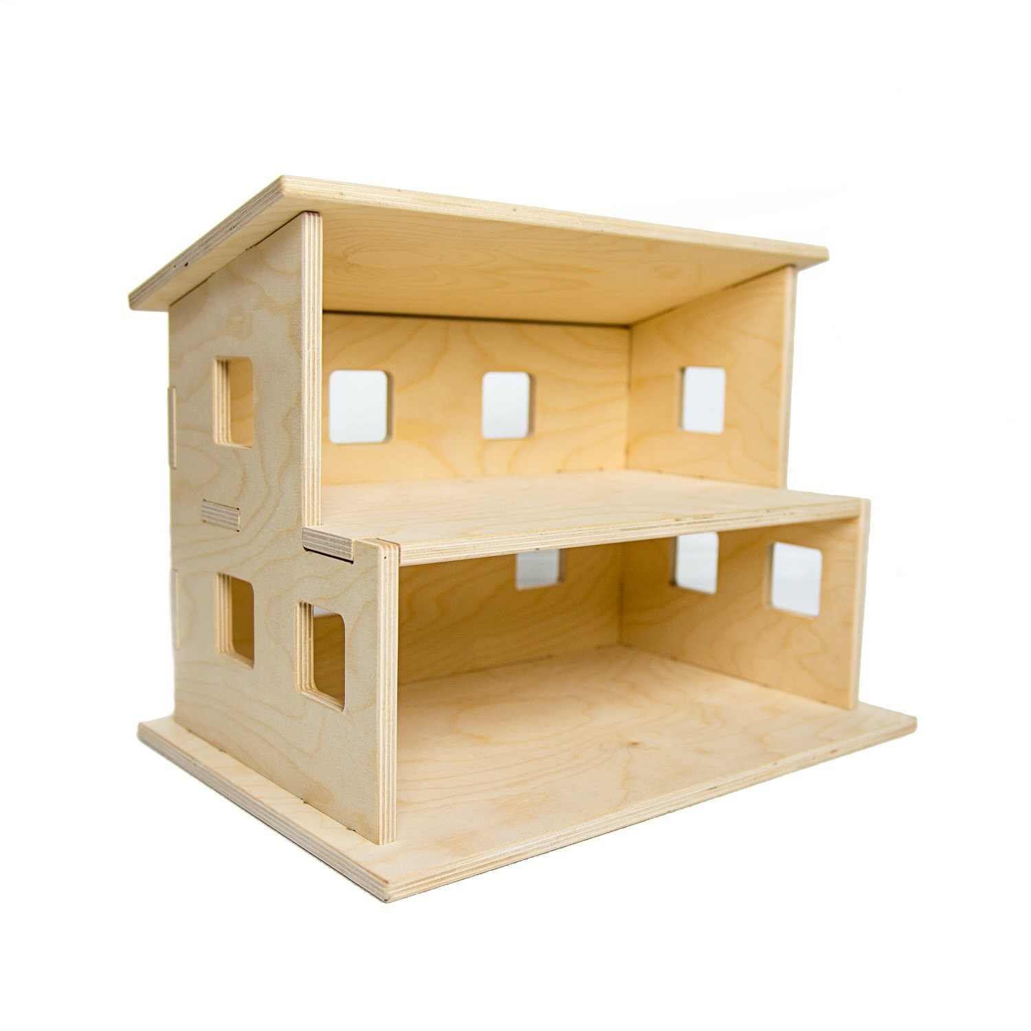 How To Paint Simple Toy Houses