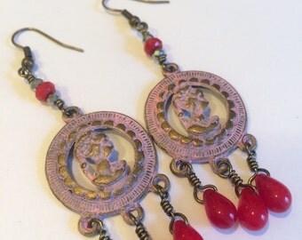 Queen Anne Earrings