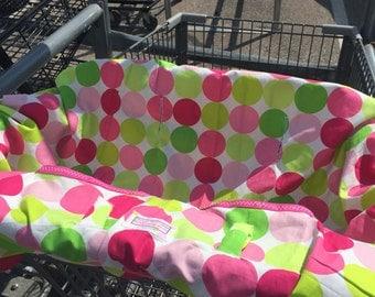 Boutique Shopping Cart Cover Sorbet Dots...,Mini Mooo Shopping Cart Cover