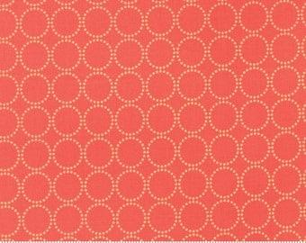 Sundrops (29014 27) Circled Dark Coral by Corey Yoder