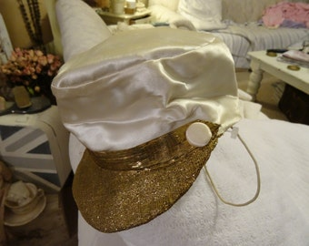 Vintage Child's Costume Hat Shabby