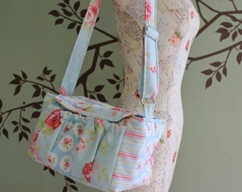 Medium Padded Modern Patchwork Camera Bag by Watermelon Wishes