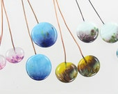 Handmade Glass Lampwork Headpins Six Matched Headpins Pairs