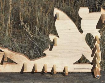 Card / Inkle weaving loom  - Figured Maple Fairy