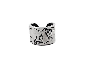 PICNIC EAR CUFF -- Ant Ear Cuff in Sterling Silver