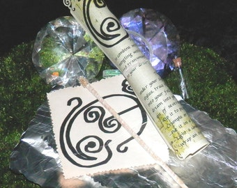 Faerie GLYPH Dream SPELL Kit, Glamour MAGIC, Invocation, Pagan, Wicca, Druid, Fairy