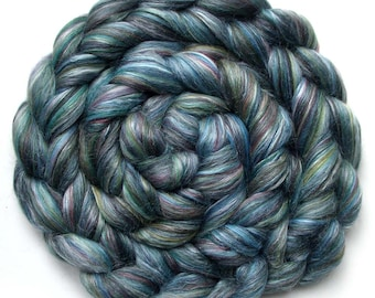 Roving Merino Silk Swirled Colors Ashland Bay Combed Top Mackenzie 5 oz.