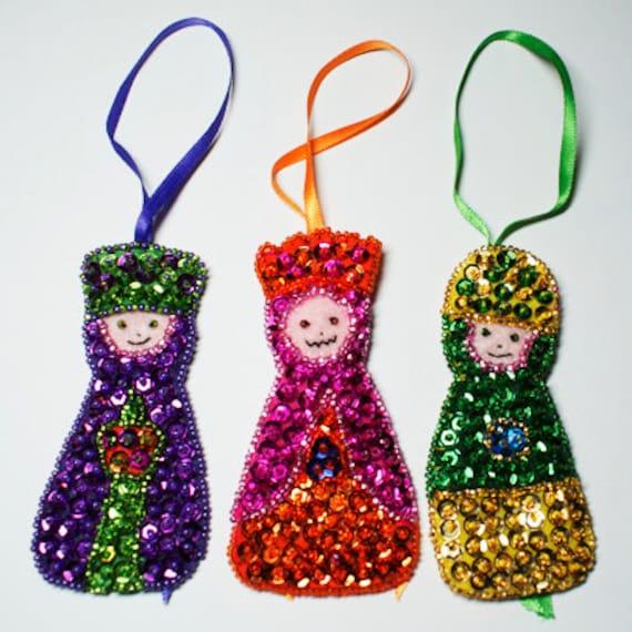 Three Wisemen Christmas Tree Ornaments