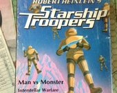 Heinlein's Starship Troopers Bookcase Tabletop Game 1976