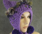 Lavender Custom Kitty Kat Hat for Regina