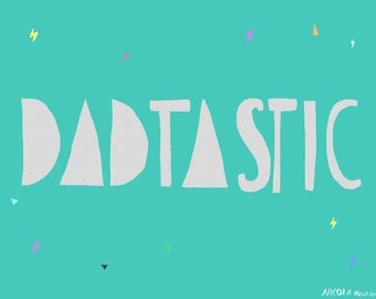 SALE: DADTASTIC greeting card cc190