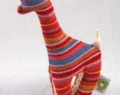Wrap Scrap Teething Giraffe - Neobulle Manon Rouge