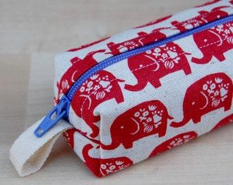Elephant Parade Skinny Mini Roll (pencil or makeup case)