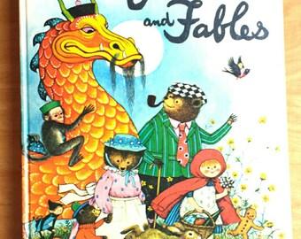 Gyo Fujikawa Vintage Fairy Tales Picture Book Hardcover