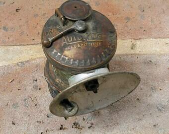 Vintage Miner's Lamp Miners Light Vintage Carbide Miner's Lamp Vintage Auto Lite