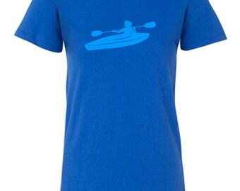 SALE - Women's Blue Tee - Any design