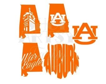 Auburn University Decal Art