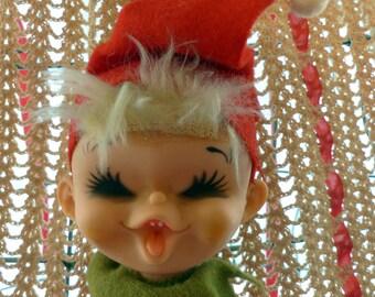 Vintage Elf Pixie Bendable Japan Mid Century
