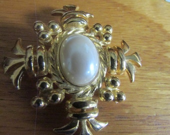 medieval pearl cross