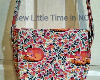Sale: Use 15Off coupon to get 15% off, Tula Pink Sleeping Fox Saddlebag, Swoon Patterns Sandra