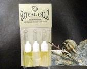 Royal Oilz Hermit Crab Food Supplement : Organic Sunflower Oil, EVOO, Avocado Oil 30ml hermit crab food oil trio by Crabotanicals