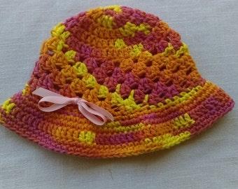 Crocheted Toddler Fun Sunhat