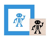 Robot Rubber Stamp