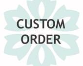 Custom Listing for  stevenkrumholz