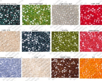 CLEARANCE Swarovski Beads Crystal Set 600 (50 each color) 4mm Bicone Colors 5328 Faceted,os3