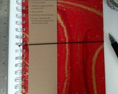 Hard Cover Grid Notebook