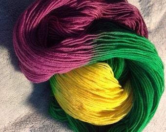 Iris variegated sock yarn