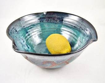 Pottery bowl, modern home decor, handmade pottery - in stock TBP