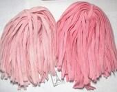 Rug Hooking Wool Strips Keepsake Pink Number 8 Dorr Wool Hand Dyed New