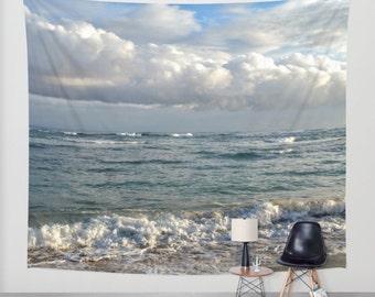 Wall Tapestry Wall Hanging Sofa Throw Ocean Sea beach Photo 10 Home Decor by L.Dumas