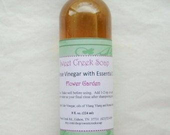 Vinegar Hair Rinse, Flower Garden