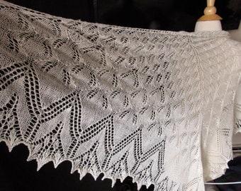 aurora borealis beaded shawl