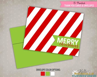 Merry Christmas Holiday Folding Cards