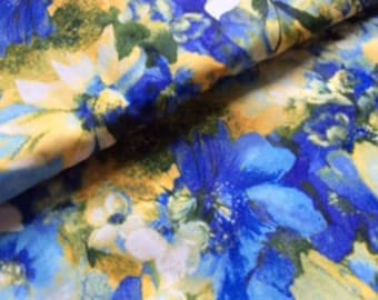 from the Watercolor Meadows Collection by Robert Kaufman Fabrics : 1/2 yard