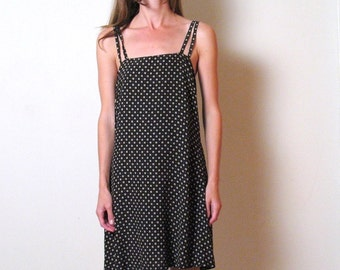 90s ITALIAN BENETTON printed sundress, s 42