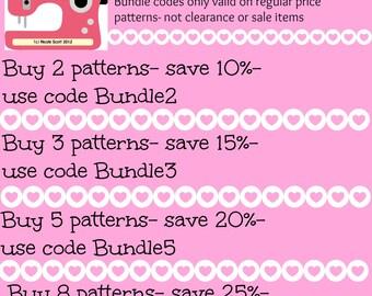 Bundle your patterns