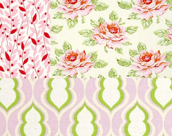 Rose Placemats, Summer Dinner Place Mats, Pink Floral Kitchen Decor, Cottage Chic Decor, Pink Green Table Mats, Made to Order, Gift Idea