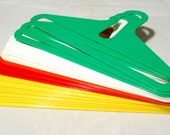 DANILO SILVESTRIN Italy Mid Century Modern Clothes Hangers Lot of 17 Atomic Mod