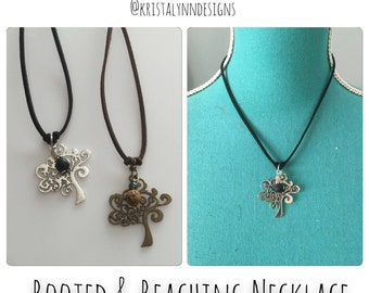 Rooted & Reaching Necklace