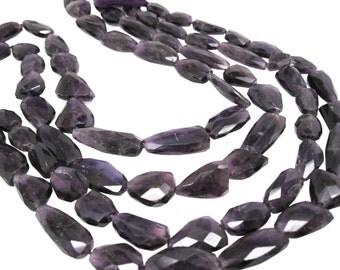 Amethyst Beads, Amethyst Nuggets, February Birthstone, SKU 4197A