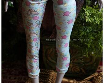 ABJD Lilycat Cerisedolls Ellena pastel Fairy Kei capri leggings