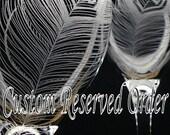 Custom Reserved Order For sandrarawlin